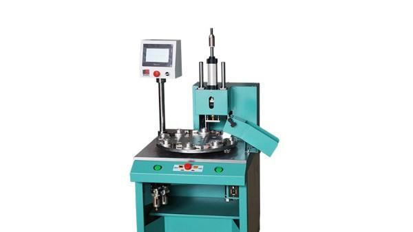自动转盘热焊机焊接示例