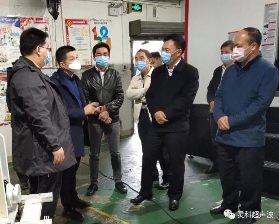 张宜生副市长一线督导抗疫物资生产