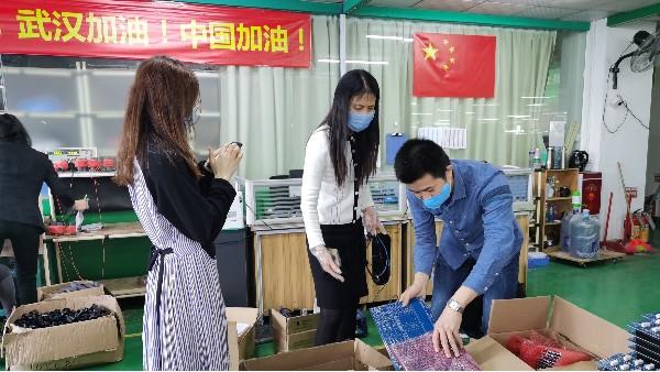 珠海市香洲区科工信局翁局长一行莅临灵科关怀指导抗疫复产
