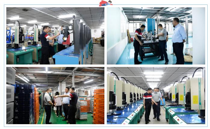 灵科超声波工厂车间机器展示