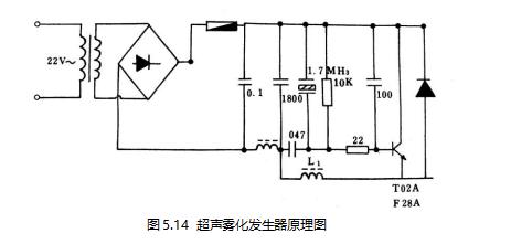 超声雾化发生器原理图
