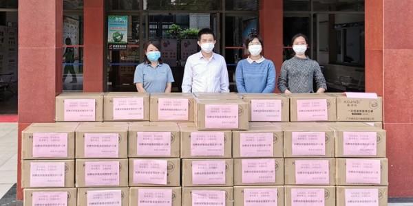 灵科支援抗疫捐赠5万口罩
