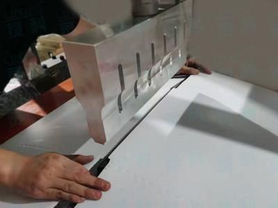 灵科超声波焊接厚纸板样品