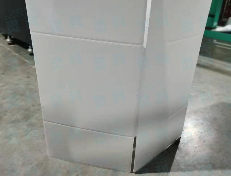 灵科超声波焊接厚纸板