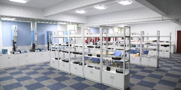 灵科超声波-焊接样品间